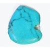 Small Bear 10x12mm Reconstructed Turquoise